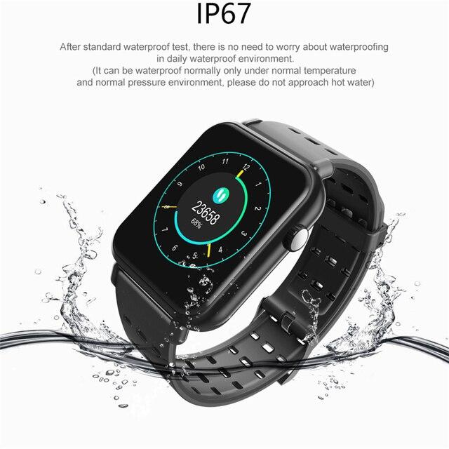 Y6 Pro Smart Band Support Heart Rate Blood Pressure oxygen Monitor IP68 Waterproof fitness tracker smart bracelet watch 1