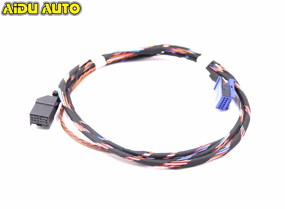 RCD510 RNS510 Media Interface MDI Wiring Harness Cables FOR VW GOLF 5N0 035 341 G