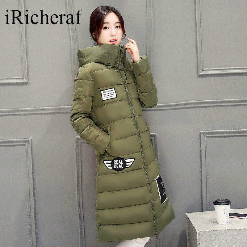 Plus Size Warm Thicken Womens Winter Down jacket Coat Top Quality Female Hooded Coats New Fashion