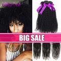 Mocha Hair Malaysian Kinky Curly Virgin Hair With Closure 3 Bundles with Closure Malaysian Kinky Curly Virgin Hair With Closure