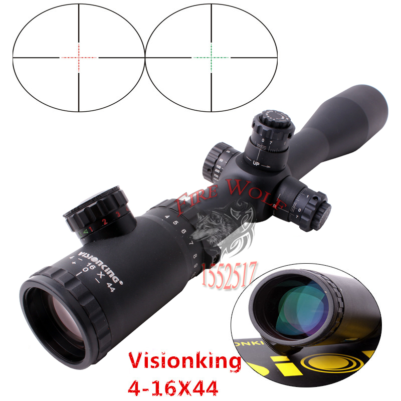 DHL Free Shipping 4-16x44 Side Focus Mil-dot Hunting Tactical Rifle scope Shockproof