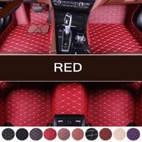Car floor mats Four Season Use for smart all models car styling Custom auto black/Purple/red/brown floor mats