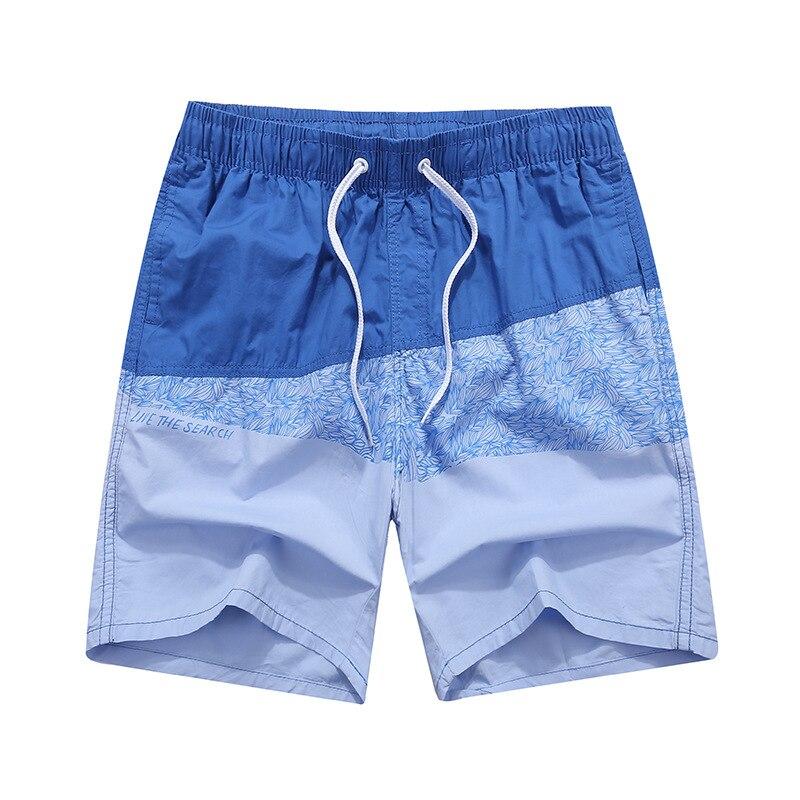 New Cotton Surfing Beach Shorts Mens Boardshorts Patchwork Surf Swim Short Pants Quick Dry Swimwear Beach Shorts For Male