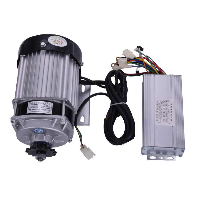 1PC Hot DC 48V 750W BM1418ZXF brushless motor, electric bicycle kit ,Electric Trike, DIY E-Tricycle, E- Trishaw Kit dc 36v 450w my1020z brush motor kit electric bicycle kit electric trike diy e tricycle e trishaw kit
