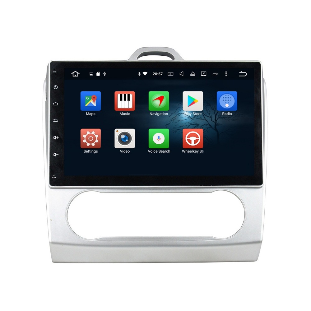 Octa Core 10.1″ Android 6.0 Car Radio DVD GPS for Ford Focus 2007-2011 With 2GB RAM Bluetooth WIFI 32GB ROM USB Mirror-link