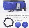 Fitness Vibração 5 motores elétrico massageador massagem da vibração cinto de emagrecimento queima de gordura perda de peso eficaz