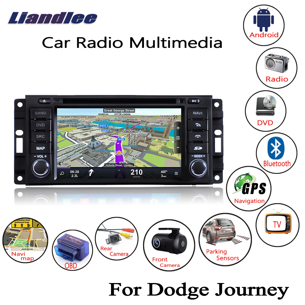 liandlee for dodge journey 2008 2010 android car radio cd. Black Bedroom Furniture Sets. Home Design Ideas
