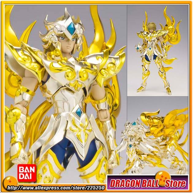 Japan Anime Saint Seiya Original BANDAI Tamashii Nations Saint Cloth Myth EX Soul of Gold Action Figure - LEO AIOLIA GOD CLOTH saint