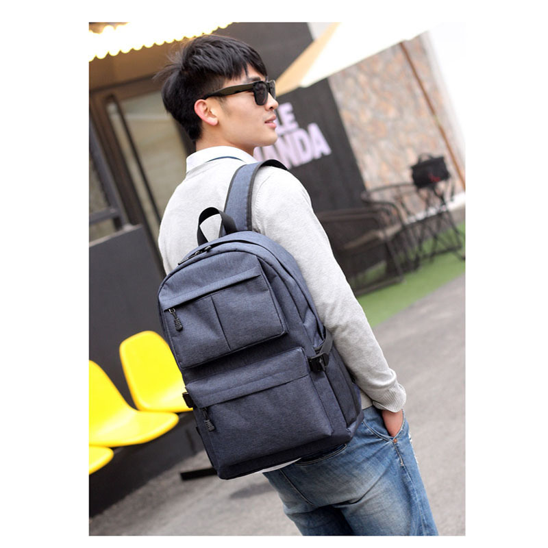School Bag With USB Charger Port Anti Theft Business Travel Backpack Laptop Book 88 Best Sale-WT