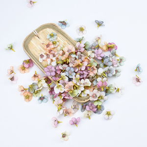 Image 1 - Multicolor Small silk daisy christmas decorations for home wedding fake flower for scrapbooking diy gifts box artificial flowers
