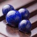 2 pçs/lote 5A Moda Rodada Lapis Lazuli Beads Pick Tamanho Natural Contas de Pedra Para Fazer Jóias Pulseira DIY frete grátis