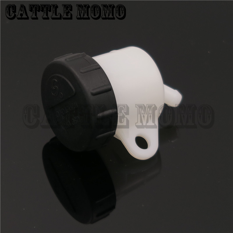 Motorcycle Brake Fluid Reservoir Tank Oil Cup For Ducati 1098 1198 1199 1100 1200 Monster 1000 2005-2011 2012 2013 2014