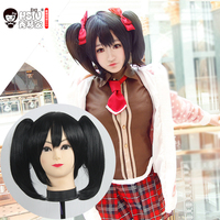 HSIU High Quality LoveLive Love Live Cosplay Wig Nico Yazawa Costume Play Adult Wigs Halloween Anime
