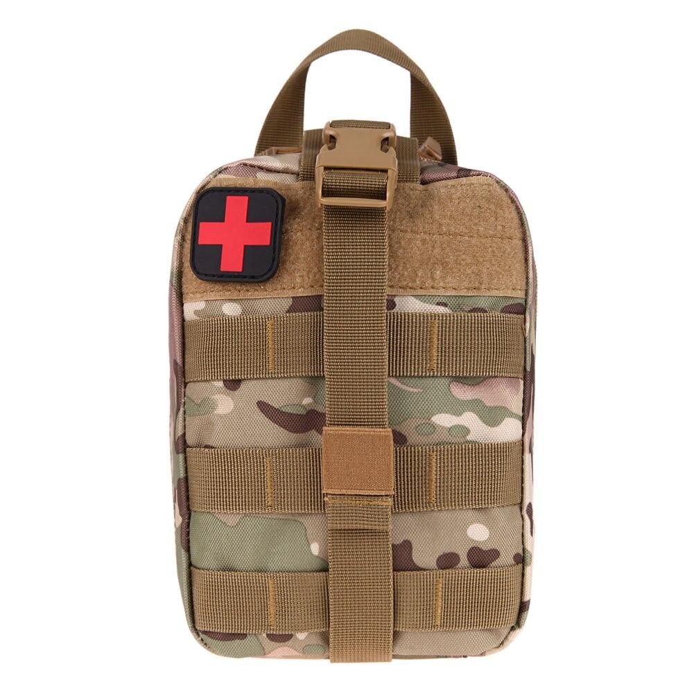 Tactique Médicale Trousse de Premiers soins Sac Médical EMT Utilitaire Médecine Transporteur Poche Extérieure Camping Chasse Voyage D'urgence Sac