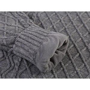Image 4 - Suéter de terciopelo grueso para hombre, Jersey de punto grueso para mantener el calor, suéter para adolescentes, M36 estilo coreano, novedad de 2020