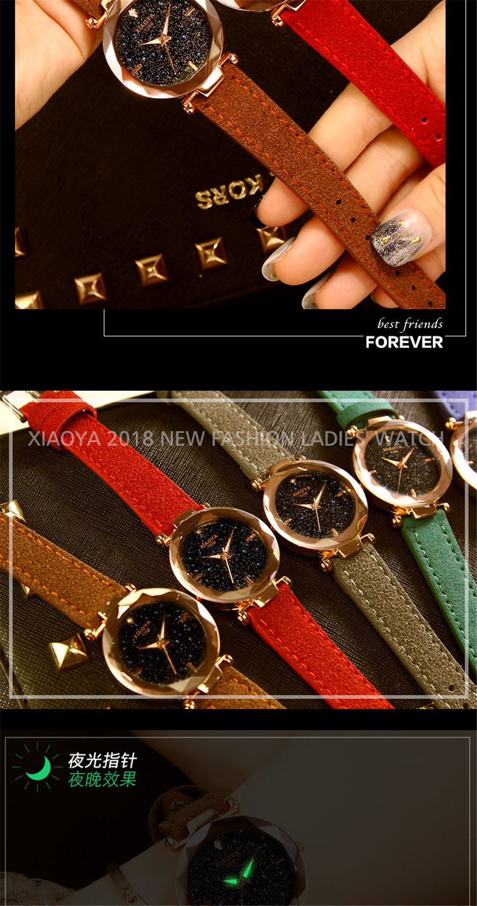 2018 Starry Sky Watch Women Minimalist Top Brand Luxury Wrist Watch For Ladies Female Clock Damski Montre Femme (4)