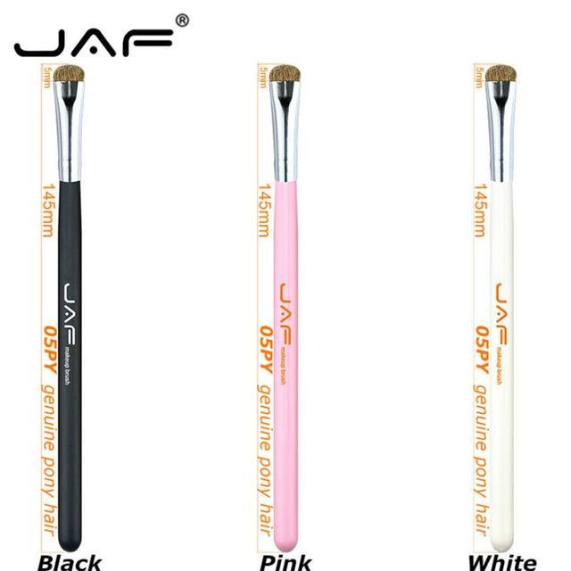 JAF 7pcs Makeup Brush Set High Quality Eyeshadow Eyebrow Eye Brushes Natural Animal Hair Make Up Brush Cosmetic Tool 25#701 2