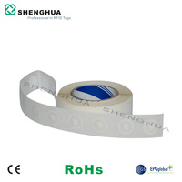1000PCS RFID NFC Tag 13.56MHz Smart Passive Sticker Paper Blank N tag213 Phone Reader Reading for Retail Inventory Tracking