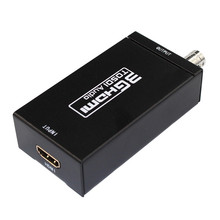5pcs Wholesale Mini 3G 1080P HDMI to SDI SD-SDI HD-SDI 3G-SDI HD Video Converter With Power Adapter In Retail package
