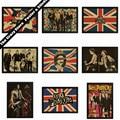 Sex Pistols Bar Cafe retro nostalgia kraft papel pintura decorativa carteles etiqueta de la pared