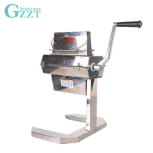 Manual Meat Tenderizer Wide 7 Commercial 20*2 Knifes Processing Machine Poultry Tool MTS720