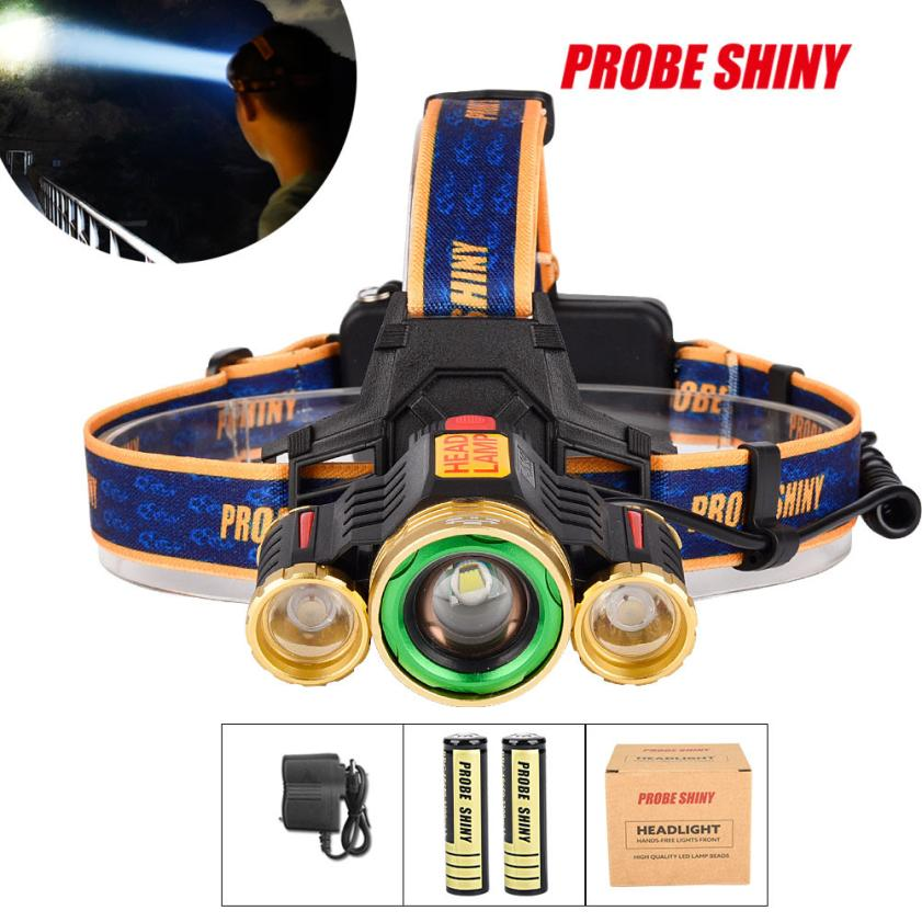 Zoom 15000LM 3X XM-L T6 LED Rechargeable 18650 Headlamp Headlight Light Torch Outdoor Bicycle Accessories High Quality Nov 28