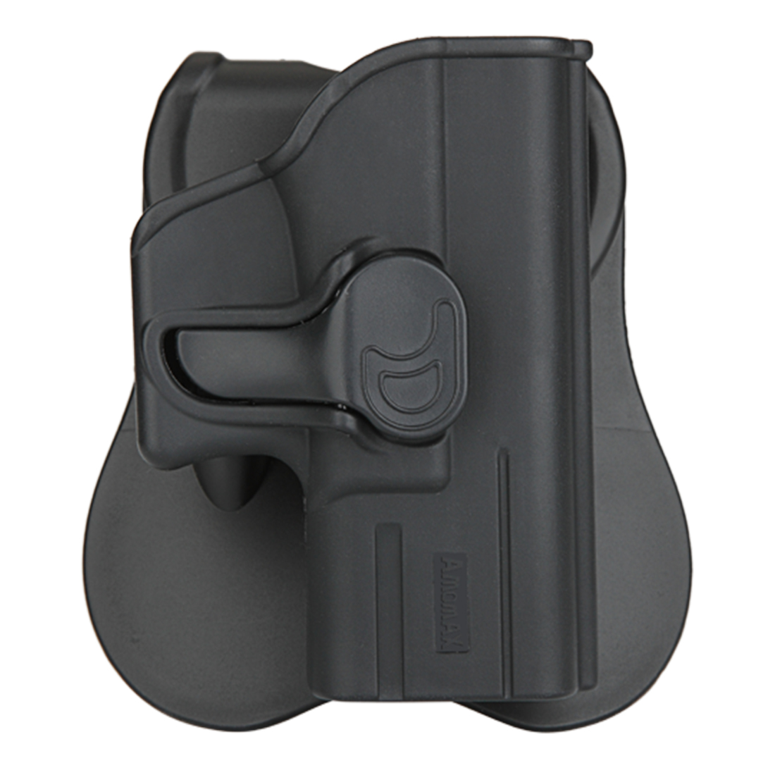 NFSTRIKE Amomax Tactical Holster For Glock 26/27/33  High Quality - Right-Handed Black(Only With Waist Plate, No Other Parts)