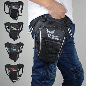 Fashion Motorcycle Drop Leg Bag Hip Bum Fanny Pack Waterproof Motorcycle Bag Travel Casual Waist Bag Motorcycle bike Backpack(China)