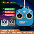 Remote Control Silicone Protective Case Silicone Sleeve Cover for DJI Phantom 3 Standard and Phantom 2/2V/2V+ Drone