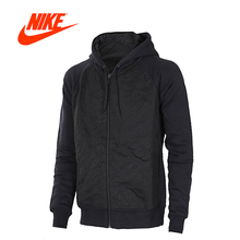 Original New Arrival Official Nike Hooded Jacket Mens Jordan Sports Outdoor Hoodie Jacket Black(China)