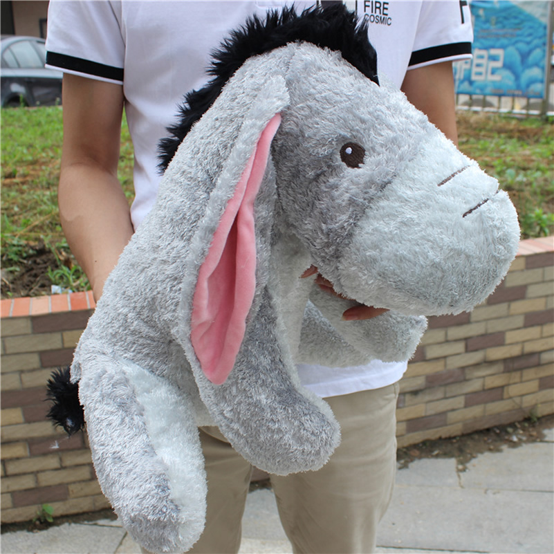 New arrival Sitting 40cm Movie Christopher Robin big size Eeyore donkey plush soft Kids doll Eeyore stuffed Plush Toy 140cm donkey doll donkey plush toy good as a gift soft stuffed toy page 9