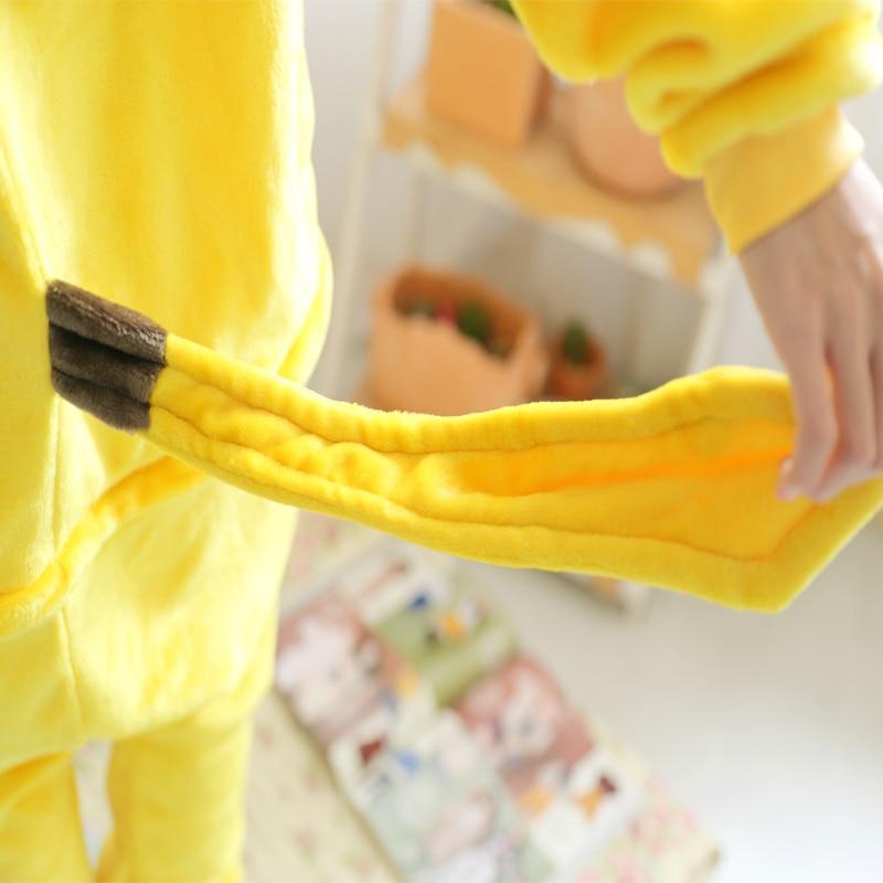 Image 5 - New Flannel pyjama baby girl pyjama set Pikachu Stitch cosplay Hooded christmas pijama infantil kids boys sleepwear 4 12 Year-in Pajama Sets from Mother & Kids