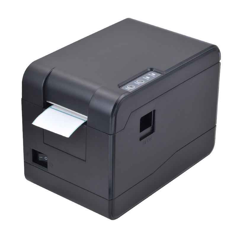 все цены на Small Thermal barcode printer 58mm USB price label printer with high speed for supermarket sticker printing impressora termica онлайн