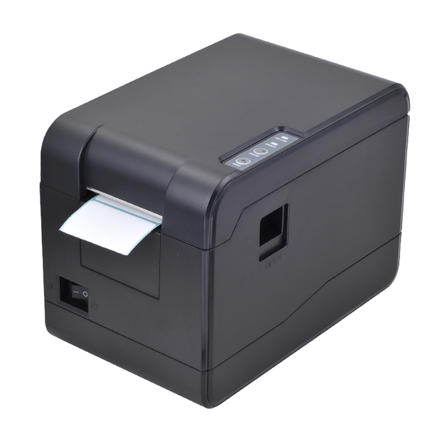 US $80 75 5% OFF|Small Thermal barcode printer 58mm USB price label printer  with high speed for supermarket sticker printing impressora termica-in