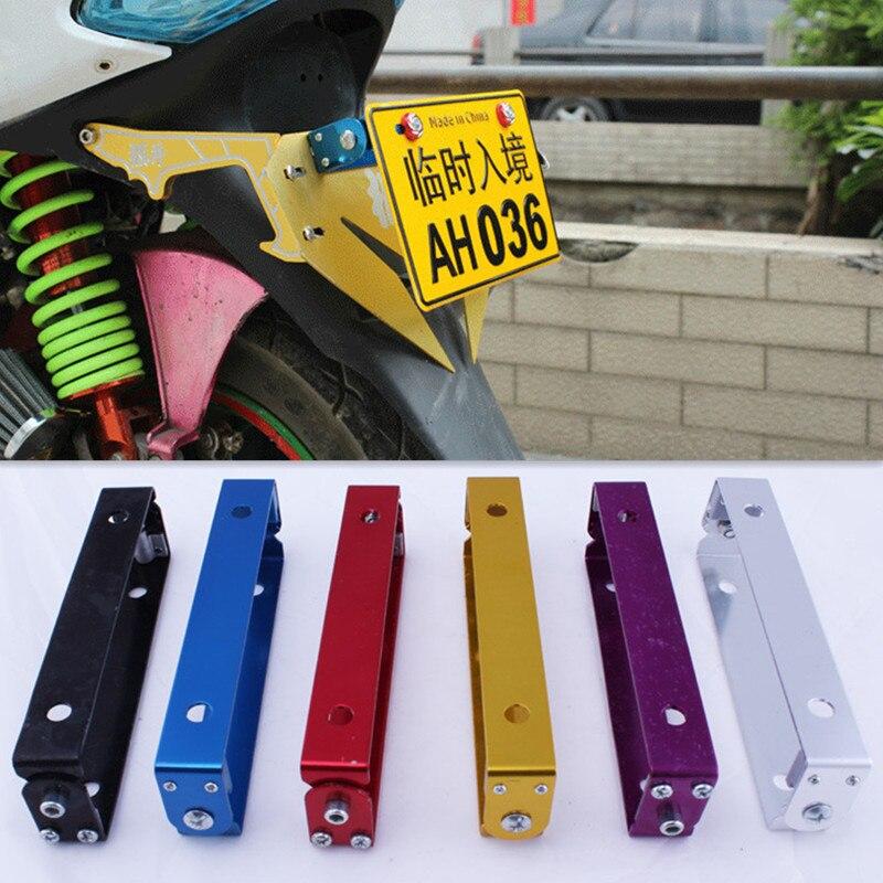 Motorrad Umwandlung Roller Moped Nummernschild Rahmen Lizenz Halter ...