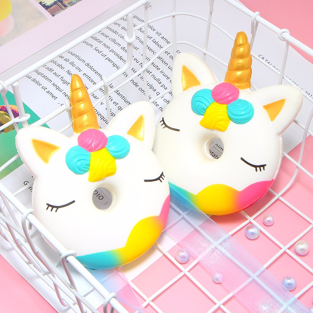 1 PC Soft Squishy Toys Cartoon Unicorn Slow Rising Toy