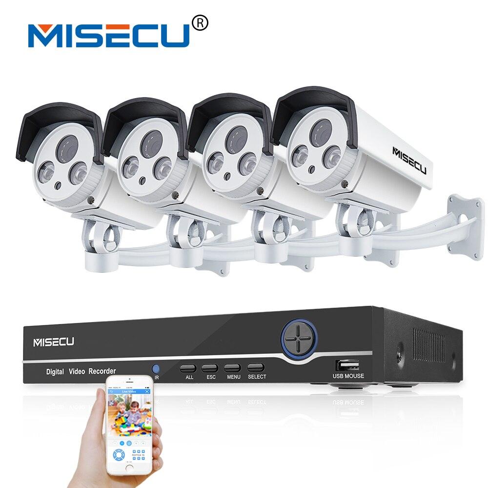 8CH Réel 48 V HD POE NVR Onvif 1080 P HDMI 2.0MP Haute Tableau d'alimentation IR Led POE NUIT étanche P2P nuage caméra de Surveillance kit