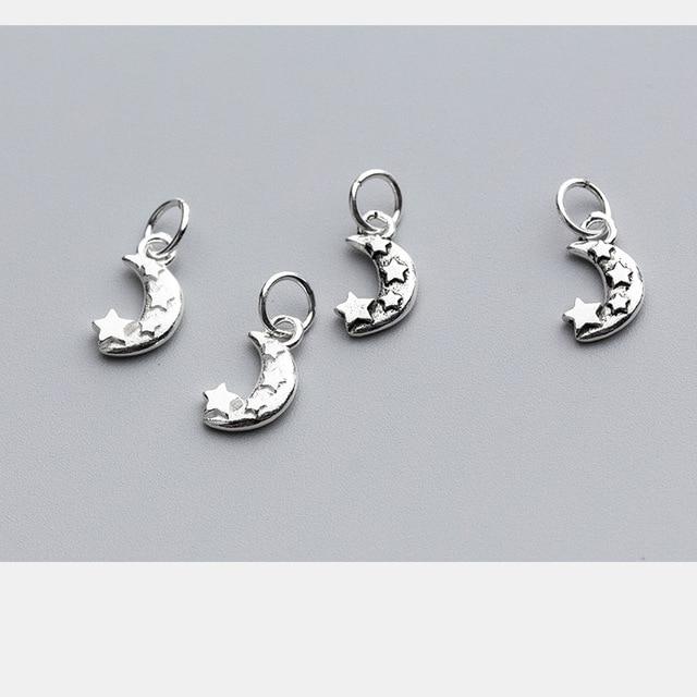 Uqbing винтажные 125*7*2 мм тайское серебро луна звезда подвески
