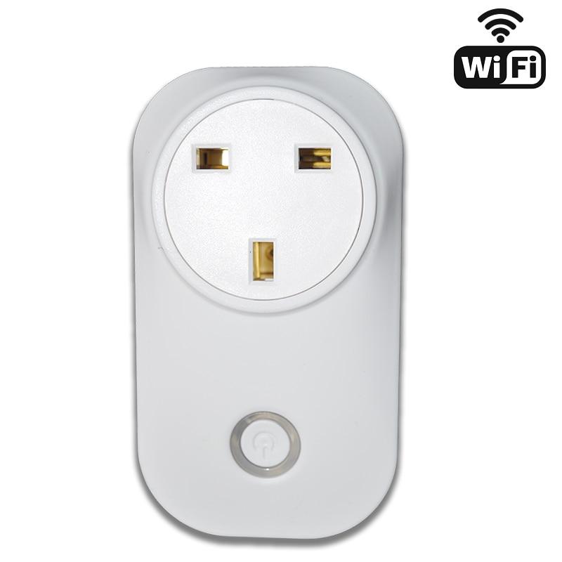 IFTTT Alexa Echo et Google Maison Commande Vocale ou Téléphone Intelligent App Remoter Wifi Sans Fil Plug Maison Intelligente NOUS ROYAUME-UNI et L'UE type Minuterie