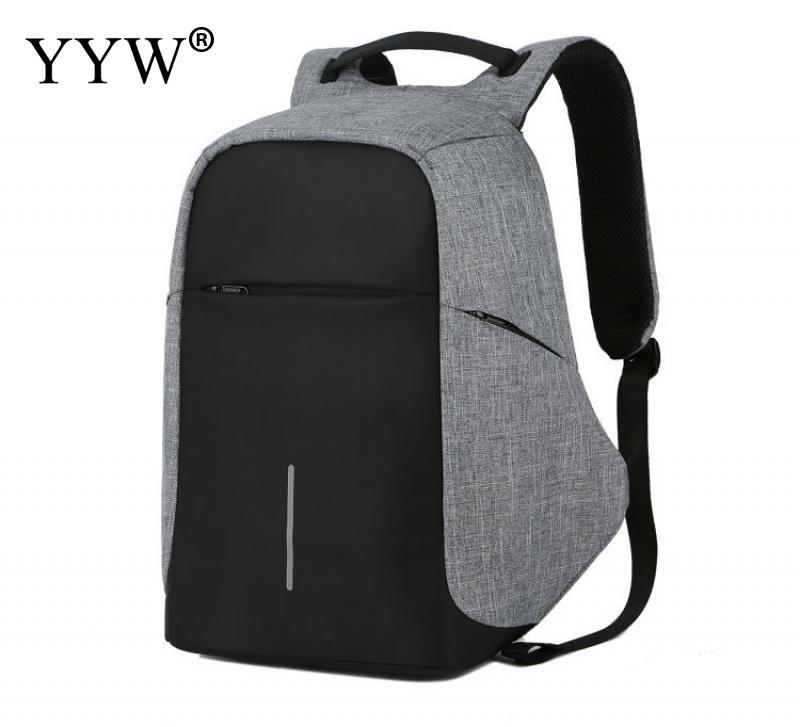 2018 Canvas Anti-Theft Backpack With Usb Interface Travel Bag For Women Men Large Laptop Backpack Korean Style Bookbag Rucksack high quality ultra light portable high carbon cloth sea fishing rod dual use bait cast carp ice fishing rod