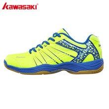Оригинальная обувь для бадминтона Kawasaki для мужчин и женщин; Zapatillas Deportivas; износостойкая дышащая Спортивная обувь; K-062