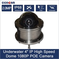 Подводная камера 080 P IP сети IP68 poe ptz камера для плавательного Бассеина и морской кабель мониторинга Max 100 м