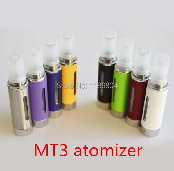 DHL Electronic Cigarette eGo MT3 Atomizer Detachable Core Huge Vapor Vaporizer Evod Clearomizer for ego battery box mod