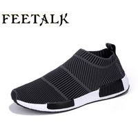 Large Size Sports Shoes 2017 New Brand Men Running Shoes Spring Zapatillas Walking Shoes Summer Sneakers