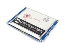 4.2 インチ電子インクディスプレイモジュール 400x300 電子ペーパーモジュール赤、黒、白三色 SPI インタフェースなしバックライト超低消費