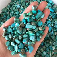 1kg Natural Kallaite Green Turquoise Calaite Gravel Rock Crystal Quartz Mineral Specimen Tank Garden Flowerpot Decoration Stones