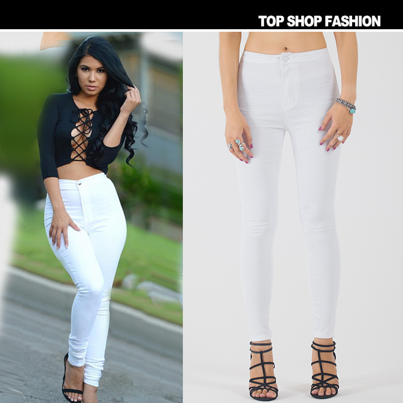 Compare Prices on White Jeans Style- Online Shopping/Buy Low Price ...