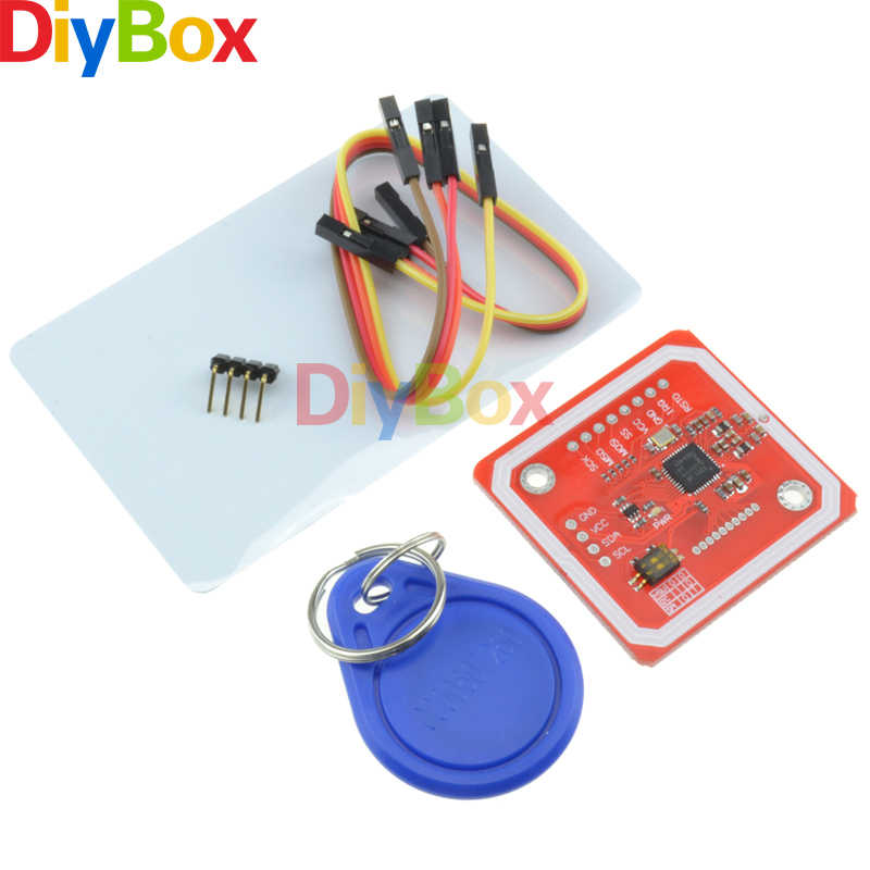 PN532 NFC RFID Wireless Module V3 Kits Reader Writer Mode IC S50 Card PCB  Attenna I2C IIC SPI HSU For Arduino Android Phone Top