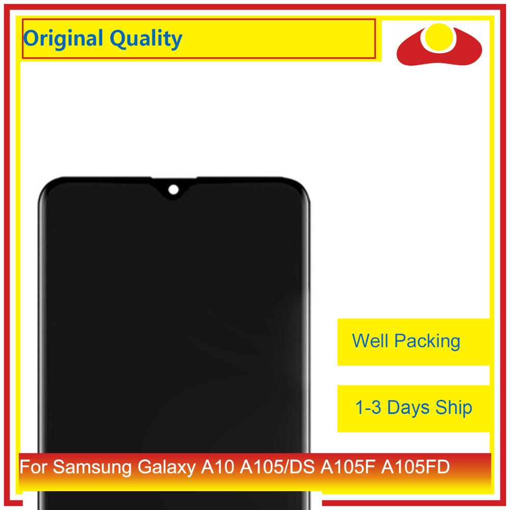 Image 2 - 10Pcs/lot For Samsung Galaxy A10 LCD A105 A105F SM A105F LCD Display With Touch Screen Digitizer Panel Pantalla Complete-in Mobile Phone LCD Screens from Cellphones & Telecommunications