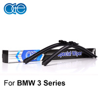OGE Windshield Wipers For BMW 3 Series E90 E91 24 19 Rubber Bracketless Windscreen Blades Car